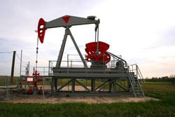 Ja-knikker voor olie winning